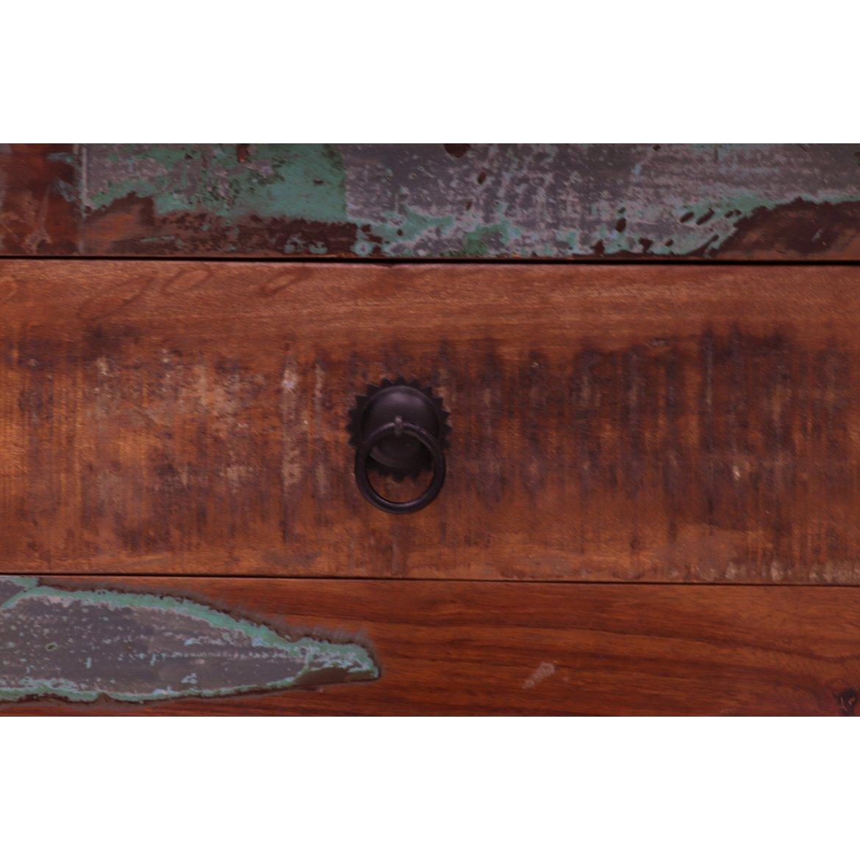 Komoda Retrospective 100x100x45 z recyklovaného mangového dřeva