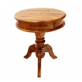 Kulatý stolek z indického masivu palisandr