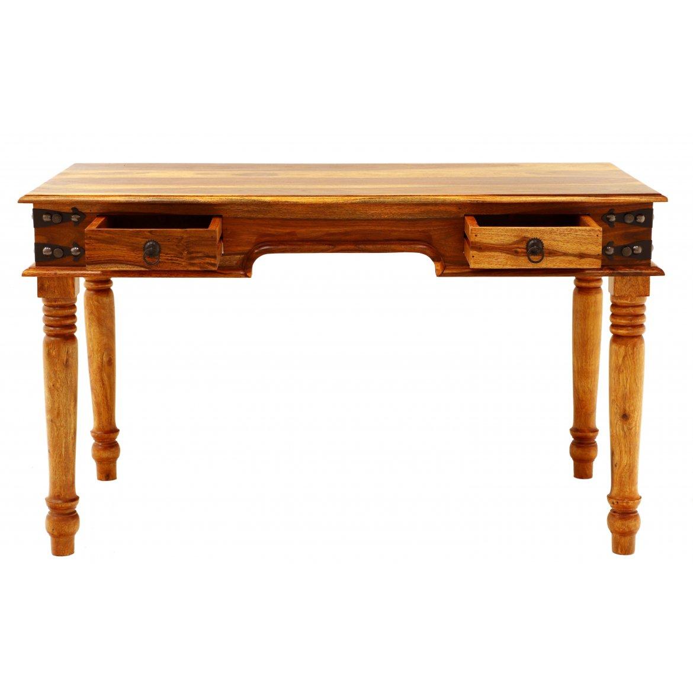 Psací stůl Jeely 130x76x70 z indického masivu palisandr