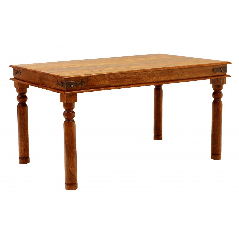 Jídelní stůl Jeely 120x90 z indického masivu palisandr