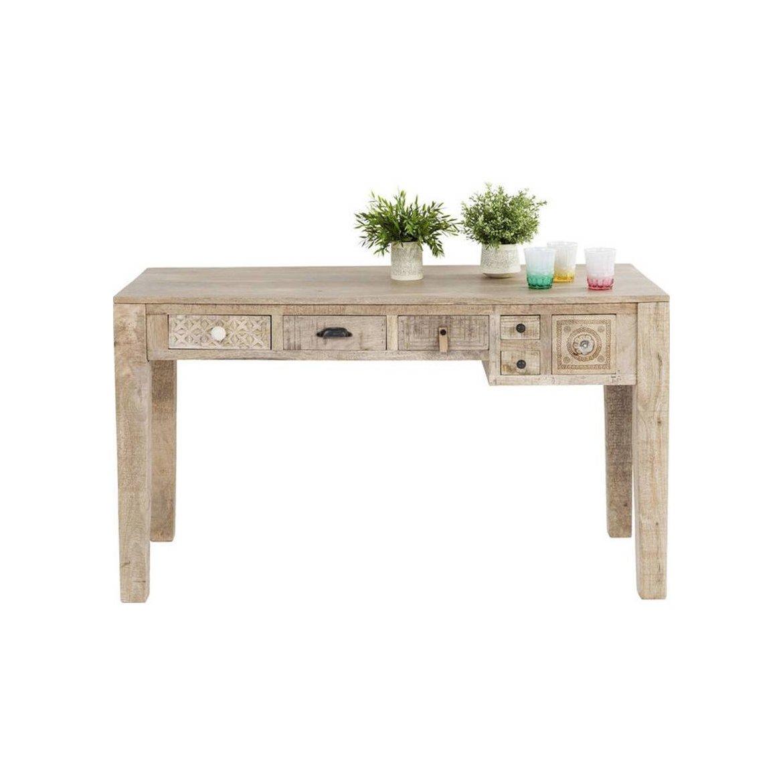Psací stůl Manthee 135x76x60 z mangového dřeva