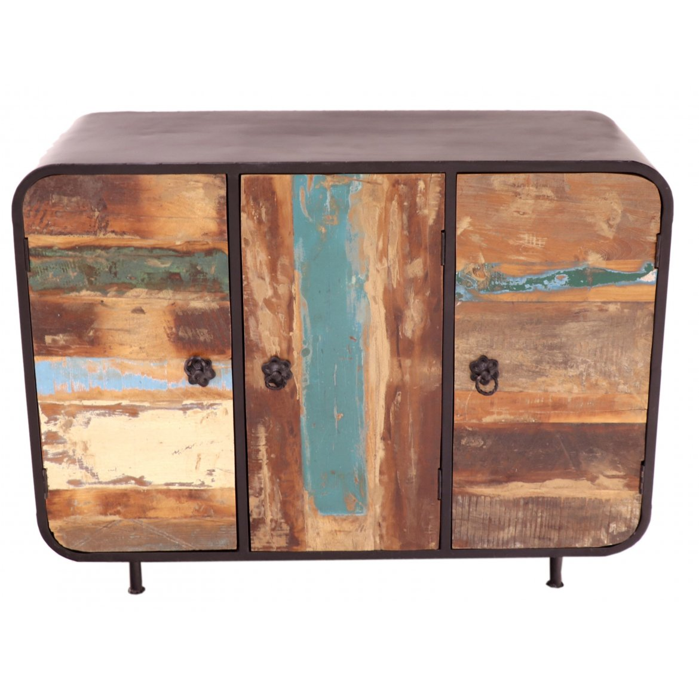 indickynabytek.cz - Komoda Retro 120x90x45 z recyklovaného mangového dřeva Holy wood
