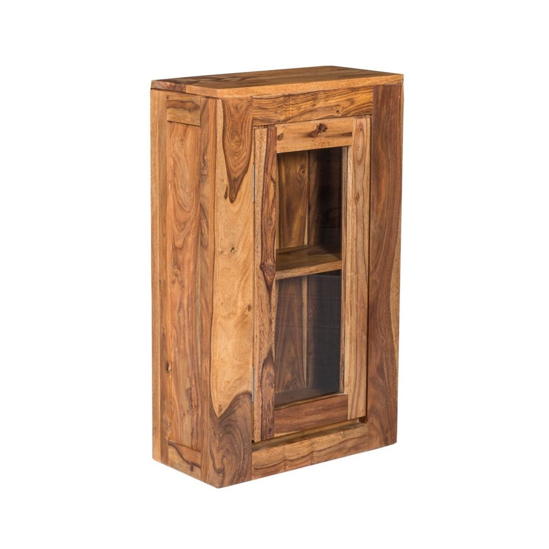 Nástěnná skříňka do koupelny Ghani 40x60x15 z indického palisandru