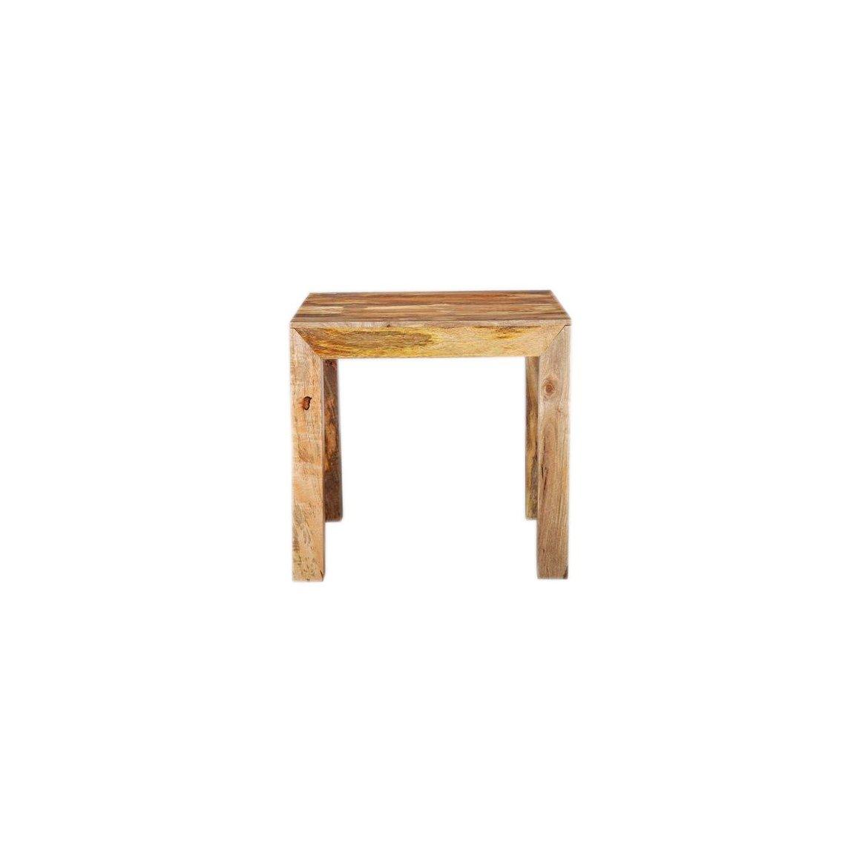 Jídelní stůl Ghina 80x80 z mangového dřeva
