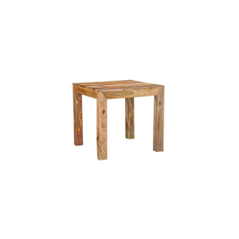 indickynabytek.cz - Jídelní stůl Hina 80x80 z mangového dřeva Mango natural
