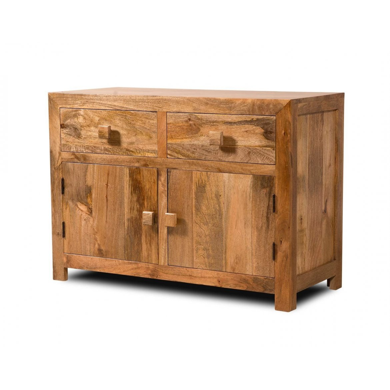indickynabytek.cz - Komoda Hina 90x90x45 z mangového dřeva Mango natural