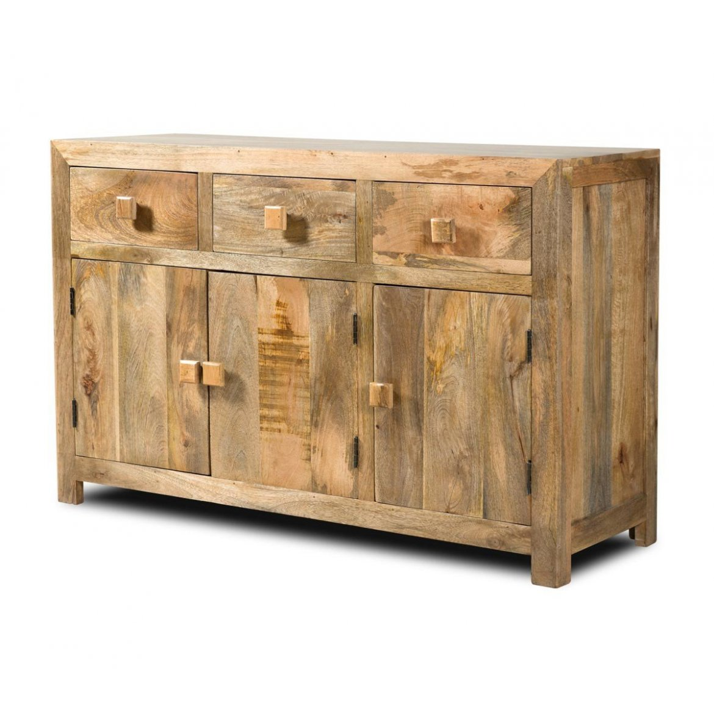 indickynabytek.cz - Komoda Hina 160x90x45 z mangového dřeva Mango natural