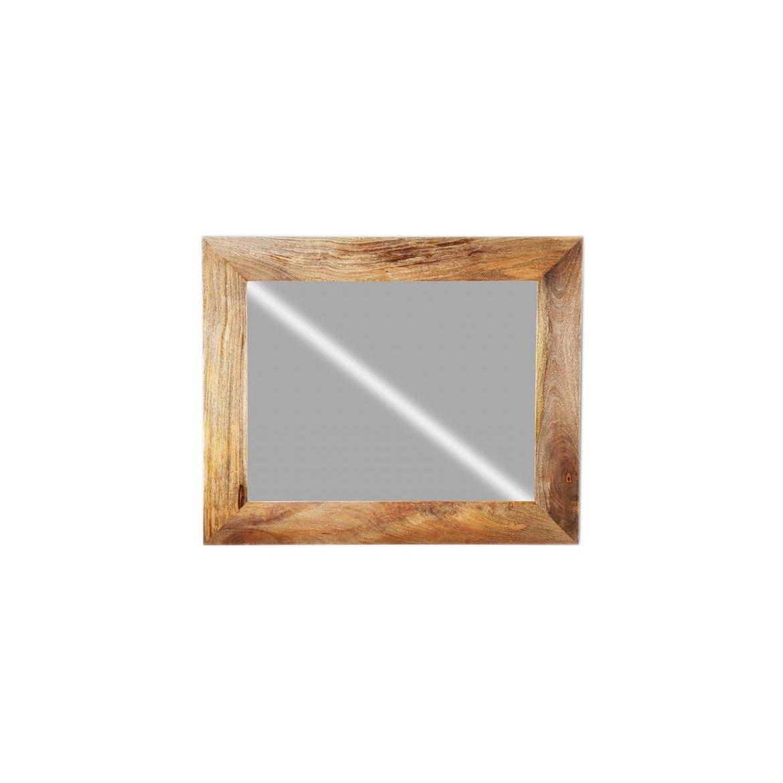 Zrcadlo Ghina 90x120 z mangového dřeva