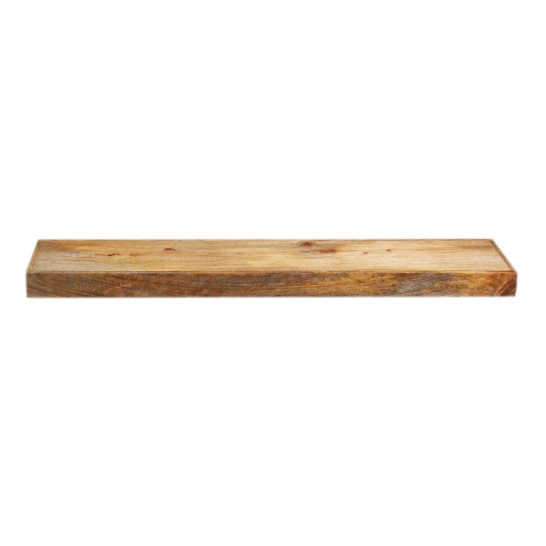 Police na zeď Ghina 50x22 z mangového dřeva
