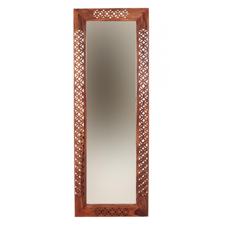 indickynabytek.cz - Zrcadlo Mira 60x170 z indického masivu palisandr / sheesham Natural
