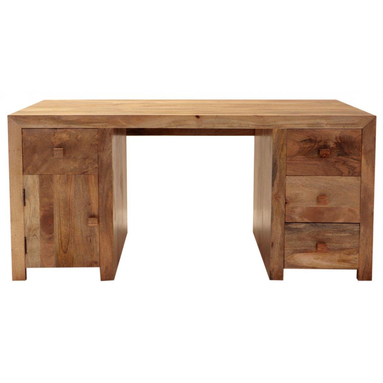 indickynabytek.cz - Psací stůl Hina 160x76x80 z mangového dřeva Mango natural