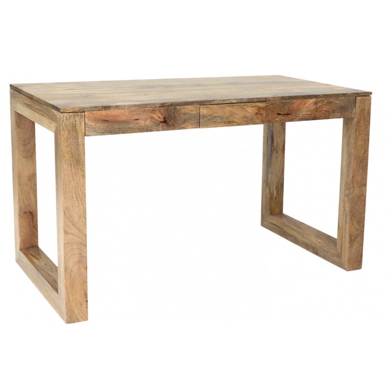 indickynabytek.cz - Psací stůl Hina 130x76x70 z mangového dřeva Mango natural