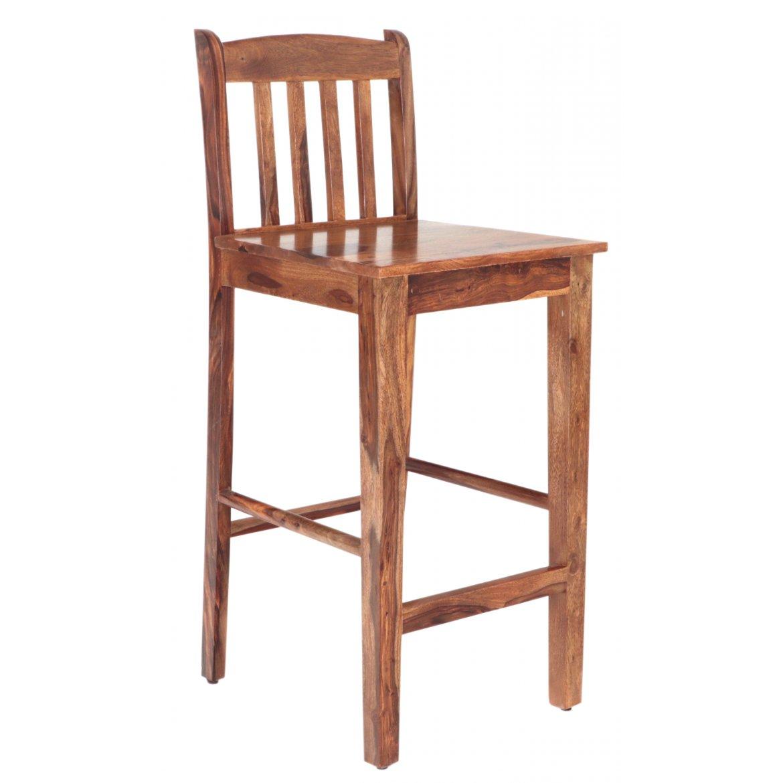 indickynabytek.cz - Barová židle z indického masivu palisandr / sheesham Natural