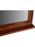 Zrcadlo z indického masivu palisandr
