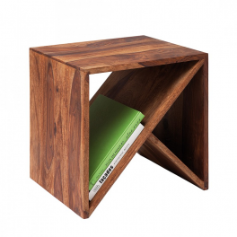 Odkládací stolek z indického masivu palisandr
