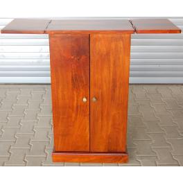 Rozkládací barová skříň z masivu palisandr
