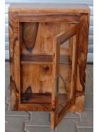 Nástěnná skříňka do koupelny  z indického palisandru