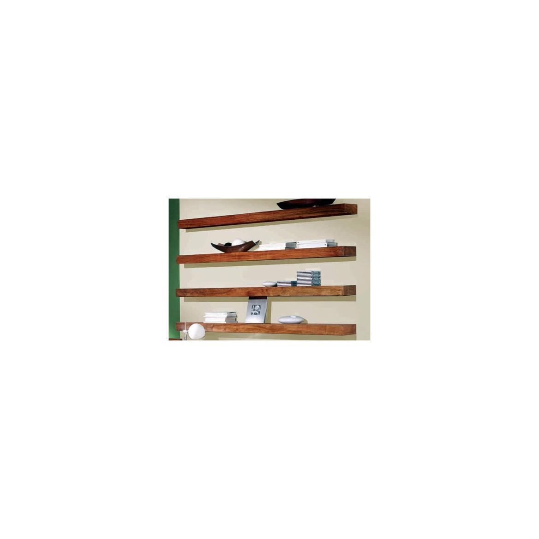 Police na zed' Tarcata 50x22 z indického masivu palisandr