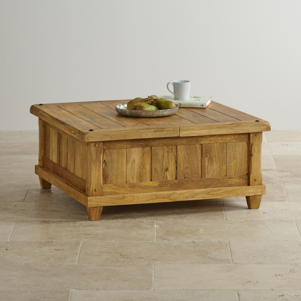 Konferenční stolek Devi z mangového dřeva