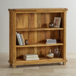 Knihovna Dhari Natural z mangového dřeva