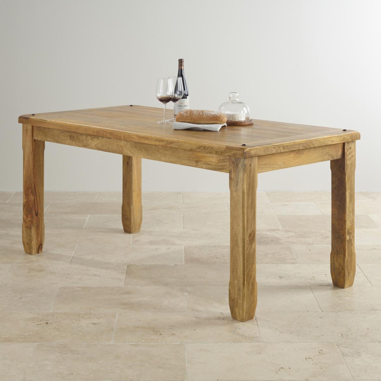 Jídelní stůl Devee 120x90 z mangového dřeva