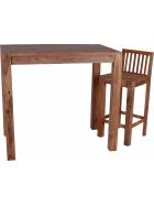 Barový jídelní stůl z indického masivu palisandr