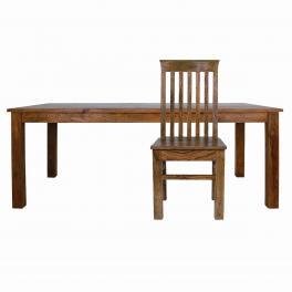 Jídelní stůl Rami 200x90 z indického masivu palisandr