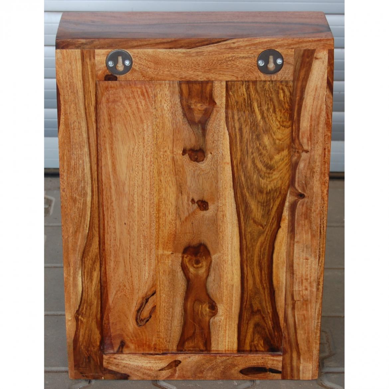 Nástěnná skříňka do koupelny Nelith 40x60x15 z indického pasisandru