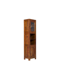 Skříňka do koupelny Mumba z indického masivu palisandr