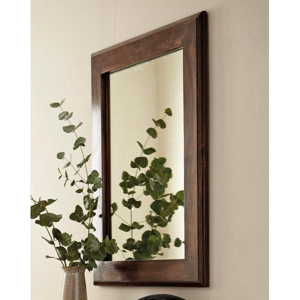 Zrcadlo Madura z indického masivu palisandr