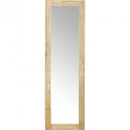 Zrcadlo Manu 170x60 z mangového dřeva
