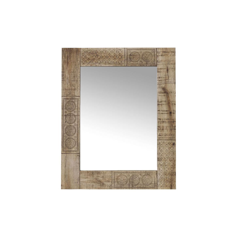 Zrcadlo Manthee 60x90 z mangového dřeva