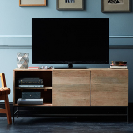 TV stolek Giny z masivu mango