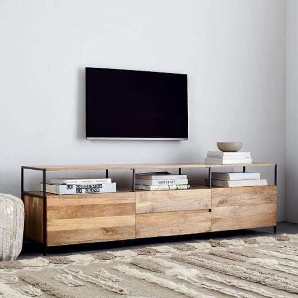 TV stolek z masivu mango