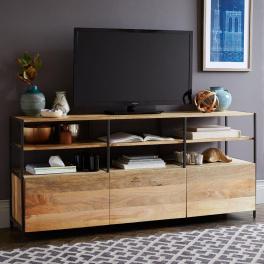 TV stolek 160 x 45 z masivu mango