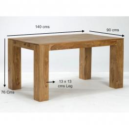 Jídelní stůl Mumba z indického masivu palisandr