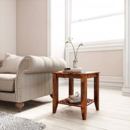 Odkládací stolek Mira z indického masivu palisandr
