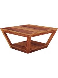 Konferenční stolek 80x80x40 z indického masivu palisandr