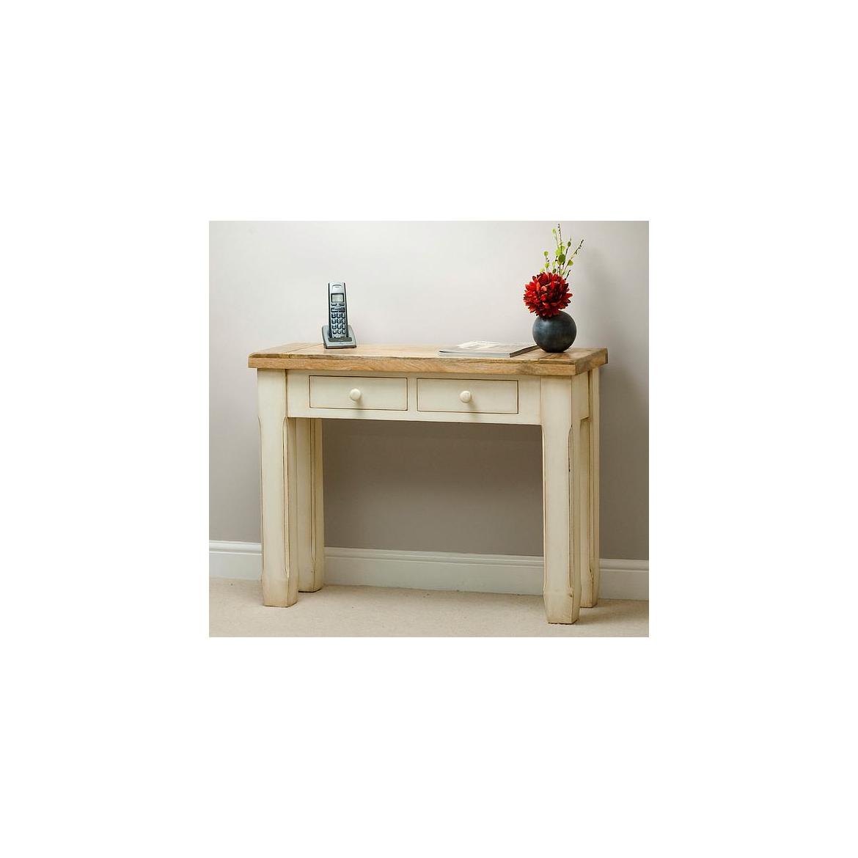 Konzolový stolek z  mangového dřeva