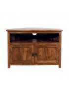 Tv stolek rohový Rami z indického masivu palisandr