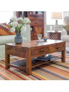Konferenční stolek Rami z indického masivu palisandr
