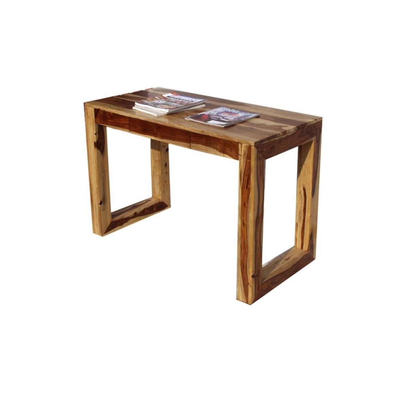 Psací stůl Tarcata 130x76x70 z indického masivu palisandr