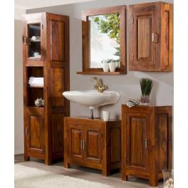 Koupelnový set Suri z indického masivu palisandr