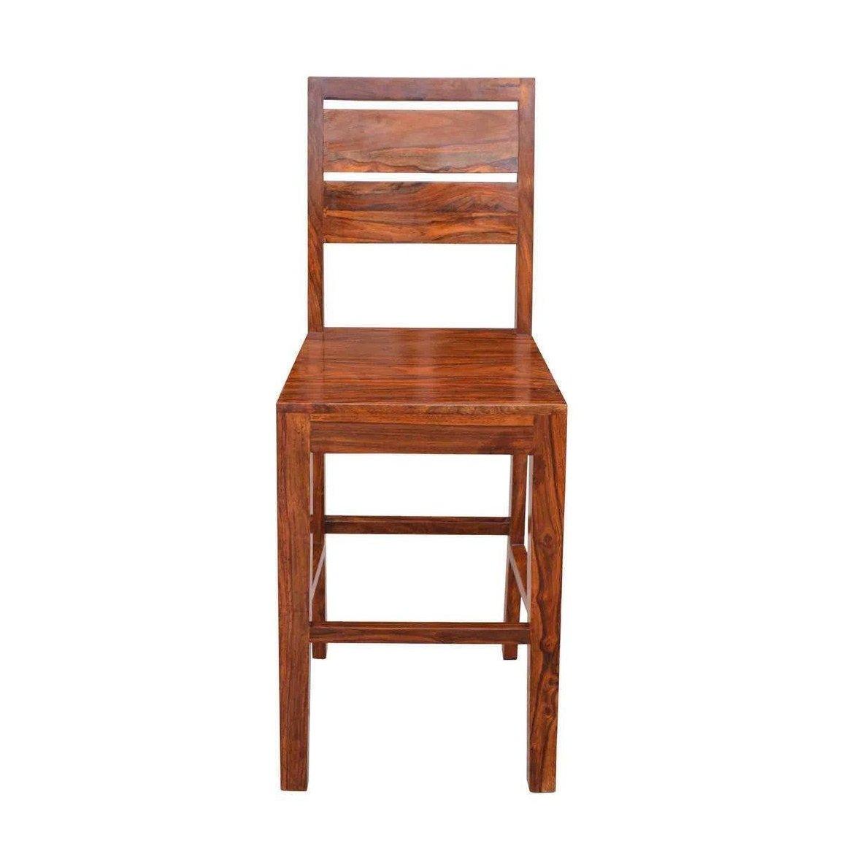 Barová židle z indického masivu palisandr